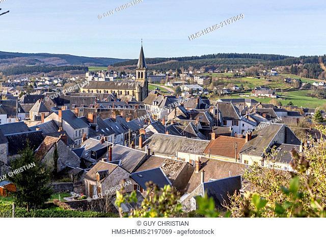 France, Nievre, Chateau Chinon, Parc Naturel Regional du Morvan (Morvan Natural Regional Park)