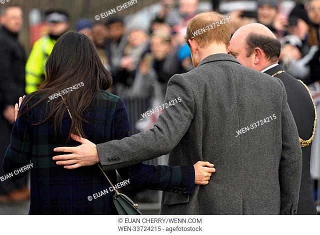 Prince Harry and Meghan Markle visit Social Bite in Edinburgh Featuring: Prince Harry, Meghan Markle Where: Edinburgh, Scotland