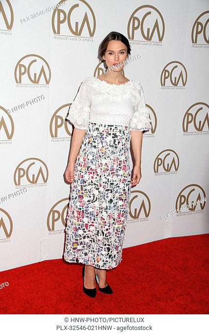 Keira Knightley 01/24/2015 26th Annual Producers Guild Awards held at The Hyatt Regency Century Plaza in Los Angeles, CA Photo by Ima Kuroda /HNW / PictureLux