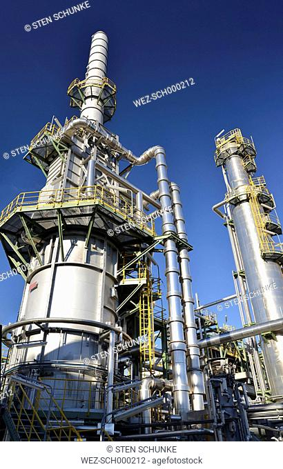 Germany, chemical industry, petroleum refinery
