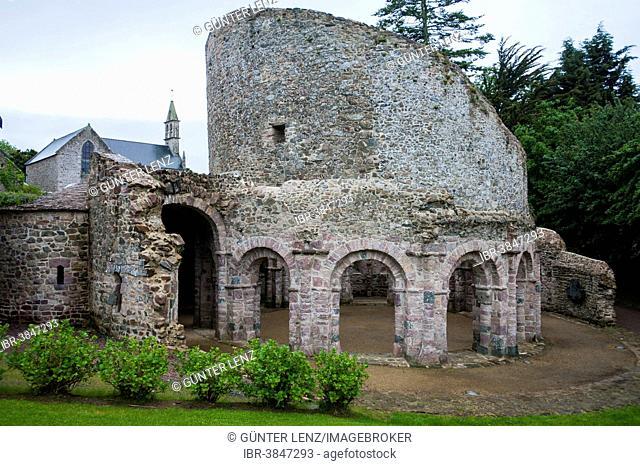 Temple of Ste-Marie de Lanleff, Paimpol, Brittany, France