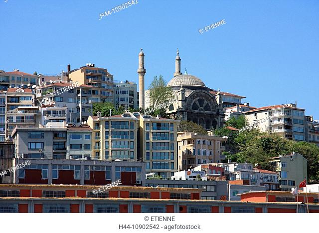 Istanbul, Turkey, houses, homes, Beyoglu, town, city, traveling, tourism
