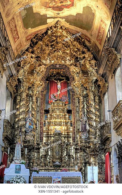 Interior of Igreja do Carmo church, Porto, Portugal
