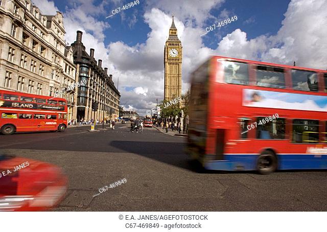 Parliament square. Westminster. London. England. UK