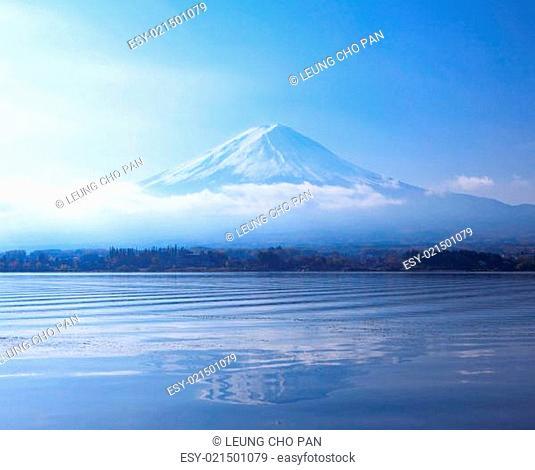 Mountian Fuji in Japan