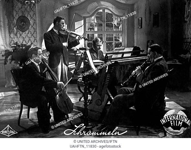 Schrammeln, Deutschland 1944, Regie: Geza von Bolvary, Darsteller: Hans Moser, Hans Holt, Paul Hörbiger, Fritz Imhoff