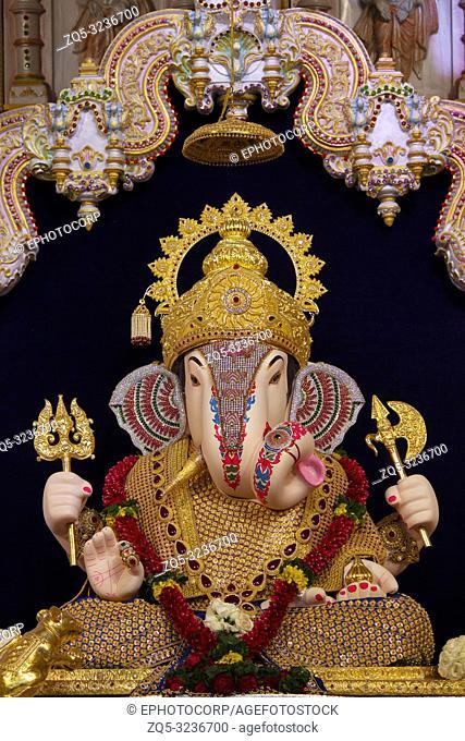 Dagdusheth Halwai Ganpati idol, Pune, Maharashtra, India