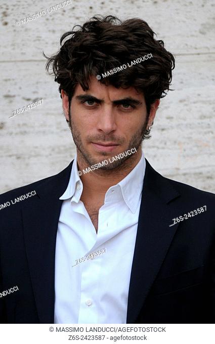 marco rossetti; rossetti; actor; celebrities; 2015; rome; italy; event; photocall; nomi e cognomi