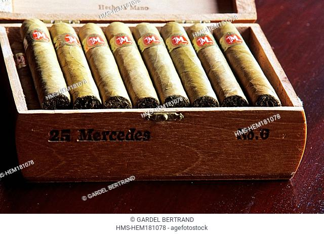 Dominican Republic, Santiago province, Cibao, Thiriet cigars box