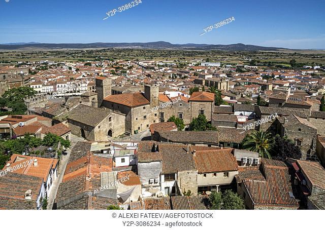 Alcázar de Luis de Chaves el Viejo in Trujillo, Extremadura, Spain