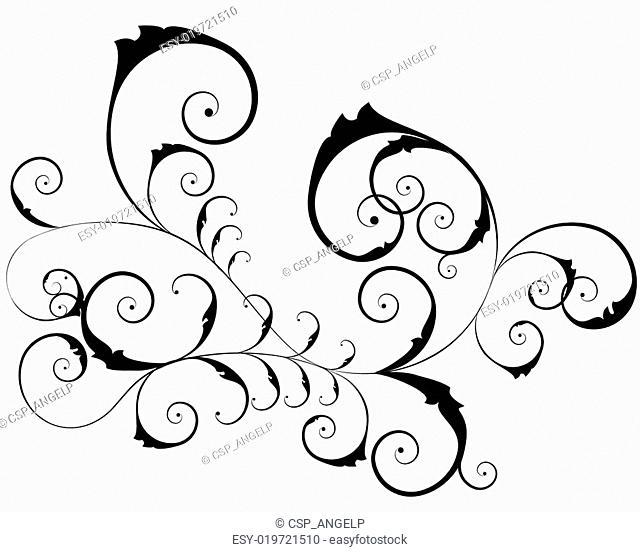 floral ornate pattern
