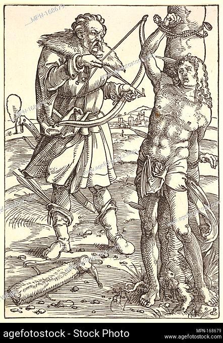 Martyrdom of St. Sebastian. Artist: Hans Baldung (called Hans Baldung Grien) (German, Schwäbisch Gmünd (?) 1484/85-1545 Strasbourg (Strassburg)); Medium:...