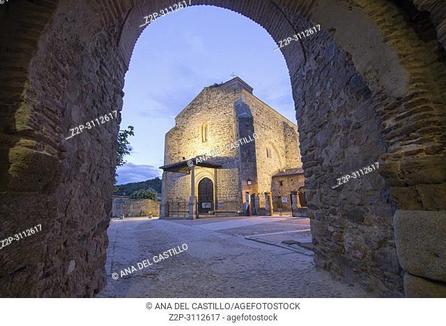 Buitrago del Lozoya is a walled village in Madrid province Spain. Santa Maria del Castillo church