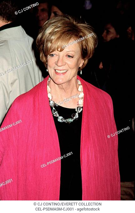 Maggie Smith at the Gosford Park Premiere, NYC, 12/03/2001, by CJ Contino