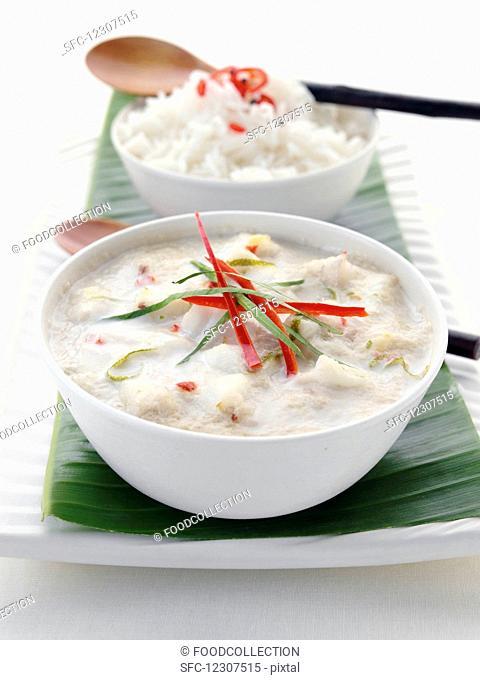 Amok (fish curry, Cambodia)