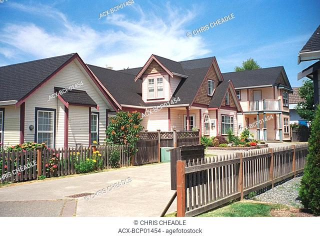 homes in Sidney, Vancouver Island, British Columbia, Canada