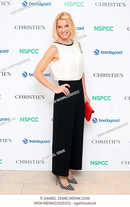 Paddington Trail auction held at Christie's in London - Arrivals Featuring: Lady Julie Montagu Where: London, United Kingdom When: 10 Dec 2014 Credit: Daniel...