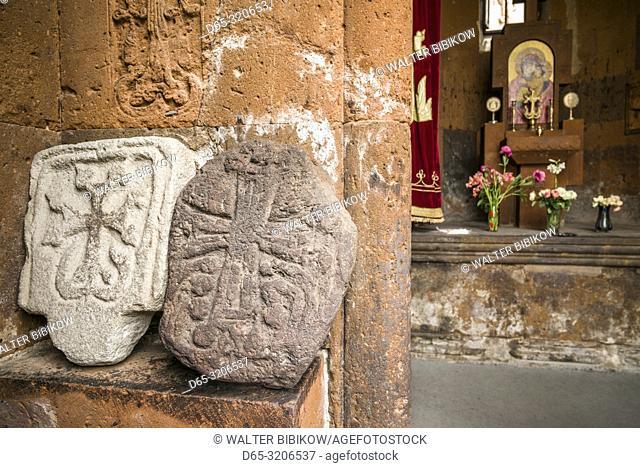 Armenia, Yerevan, Katoghike church, 13th century, interior