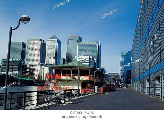 Docklands, East London, London, England, United Kingdom, Europe