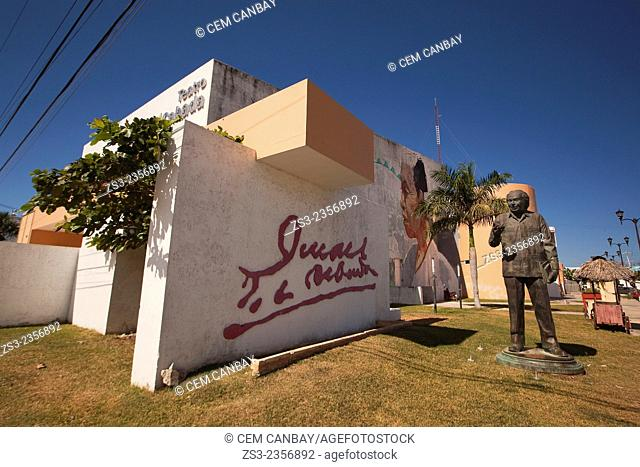 Teatro Juan de la Cabada Theater, Campeche, Yucatan Province, Mexico, Central America