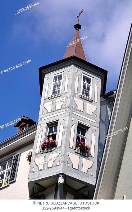 Switzerland, St. Gallen, Sankt Gallen old town...