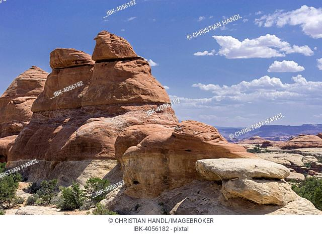 Rock formations, Needles, Monticello, Utah, United States