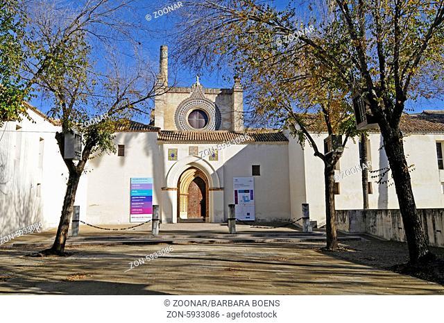 Centro Andaluz de Arte Contemporaneo, La Cartuja, centre for contemporary art, museum, Seville, Andalusia, Spain, Europe, Centro Andaluz de Arte Contemporaneo