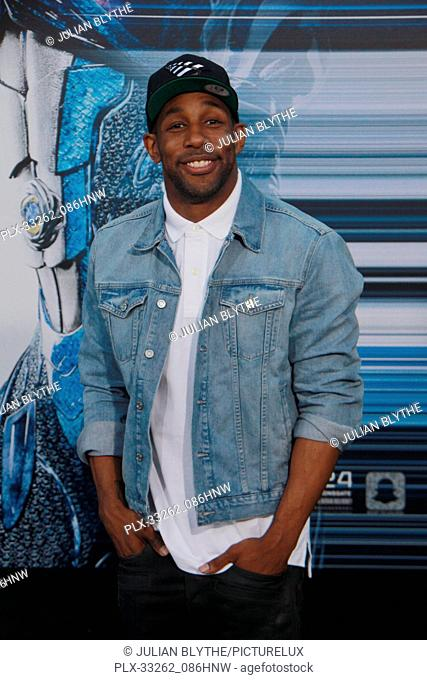"""Stephen tWitch Boss 03/22/2017 """"""""Power Rangers"""""""" Premiere held at the Westwood Village Theater in Westwood, CA Photo by Julian Blythe / HNW / PictureLux"""
