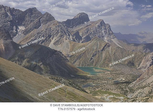 Trekking to the beautiful Kulikalon Lakes, Fann Mountains, Tajikistan