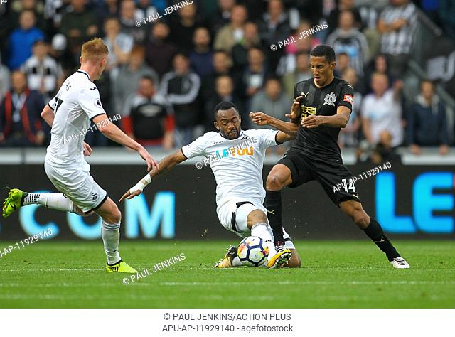 2017 EPL Premier League Swansea v Newcastle Utd Sep 10th. 10th September 2017, Liberty Stadium, Swansea, Wales; EPL Premier League football