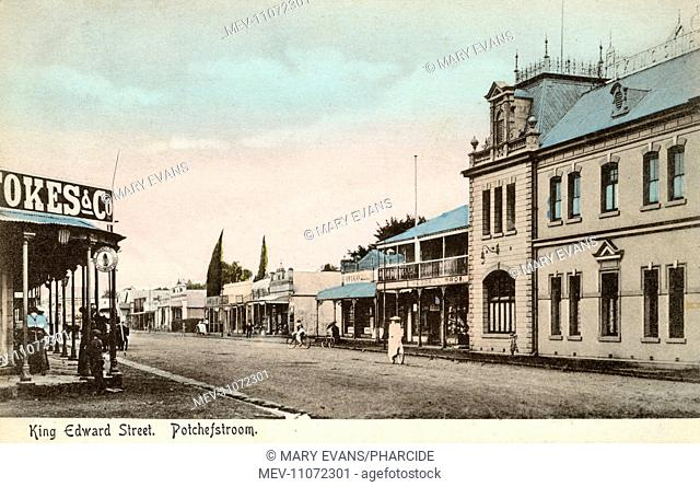 King Edward Street, Potchefstroom, NW Province, South Africa