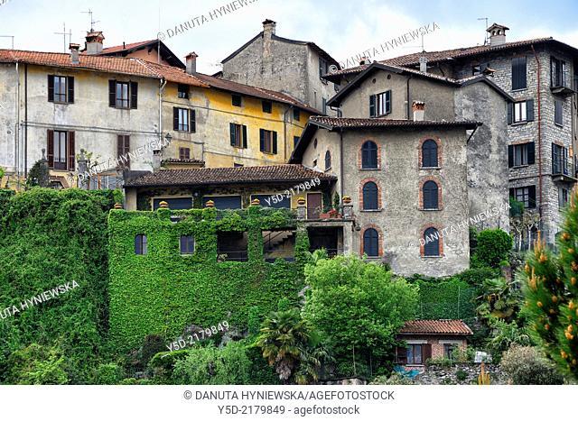 architecture in Menaggio, Como Province, Lombardy, Italy