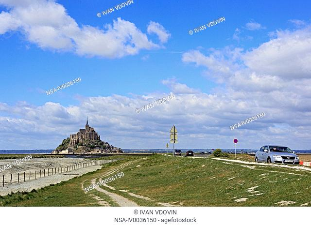 Mont Saint-Michel, Manche department, Lower Normandy, France