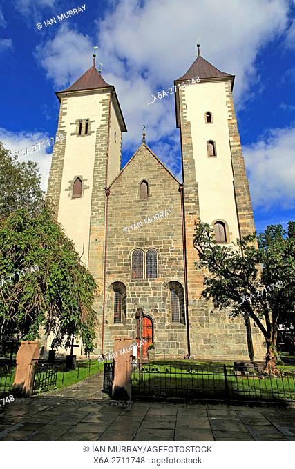 TSt Mary's Church, Mariakirken, Bryggen area, Bergen, Norway dating from twelfth centuryay