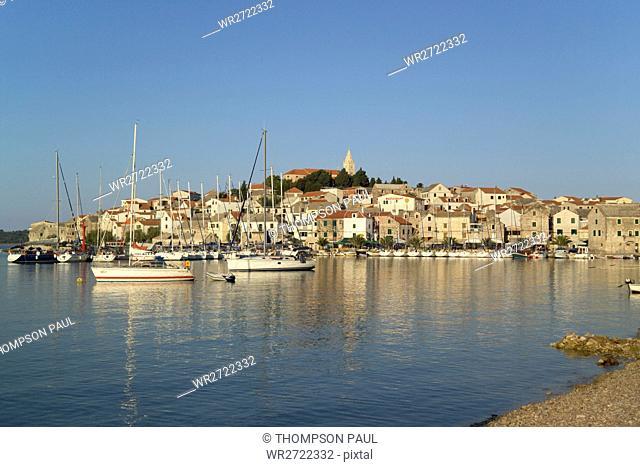 90900329, Harbour, Primosten, Dalmatia, Croatia, h