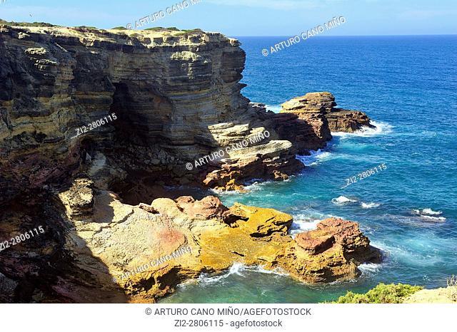 The coastline. Sagres, Algarve region, Portugal