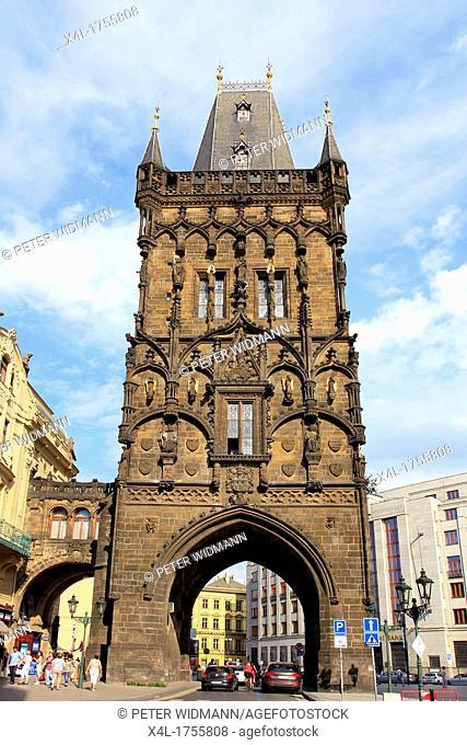 Czech Republic, Prague, the Powder Gate