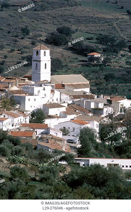Tahal. Sierra de los Filabres. Almeria. Andalucia. Spain