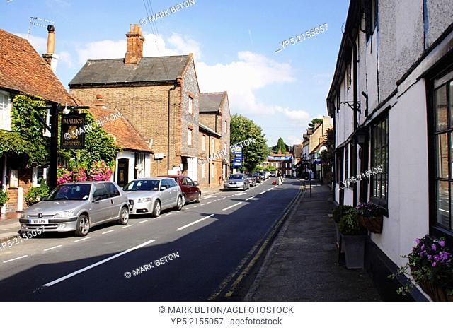 Village of Cookham in Berkshire England