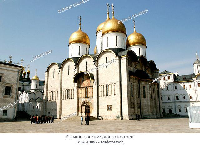 Assumption Cathedral. Kremlin. Moscow. Russia