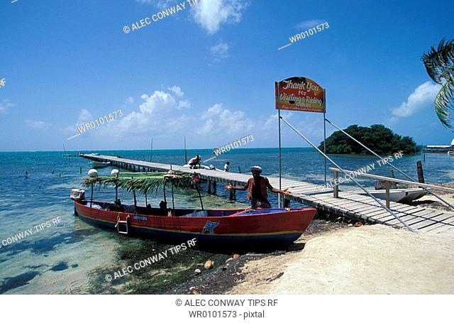 Central America, Caribbean, Belize, Caye Caulker
