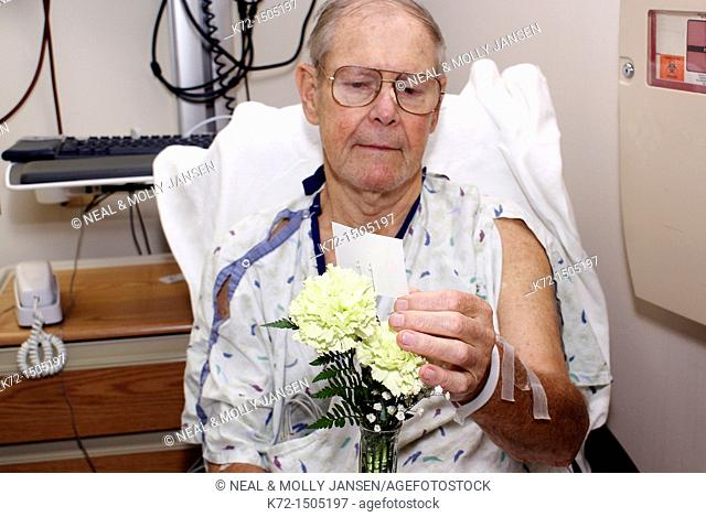Flowers for Hospital Patient