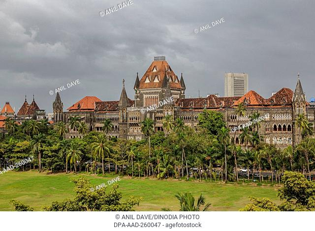 Bombay High Court, Mumbai, Maharashtra, India, Asia