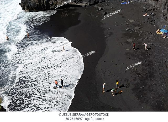 Zamora beach, La Palma, Canary Islands Spain