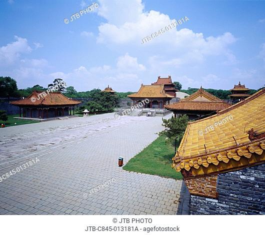 Qing Zhao ling, Shenyang, Liaoning, China, Asia, World Heritage