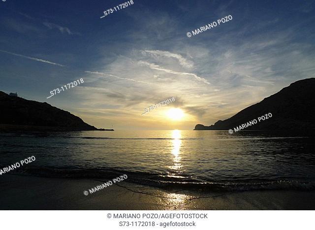 Syros island, Galissa, Galissa beach, Greek Island, Cyclades, Greek, Europe