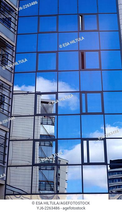 reflections on building windows, Kouvola Finland