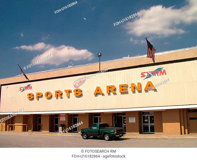 Toledo, OH, Ohio, Toledo Sports Arena & First Energy Exhibition Hall