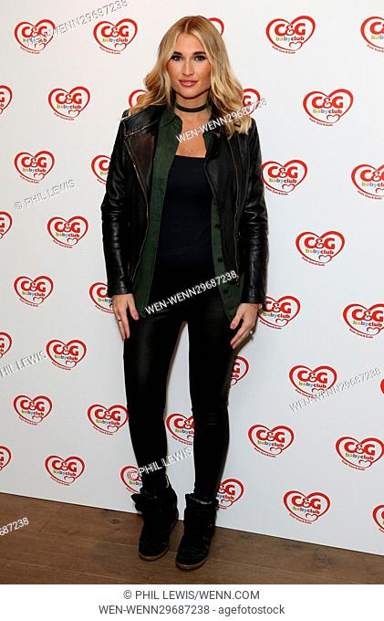 Guests attend the C&G Baby Club 'The Happy Song' Launch Event at Ham Yard Hotel in Soho Featuring: Billie Faiers Where: London
