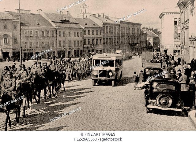 The Soviet Red Army in Vilnius, 1940, 1940